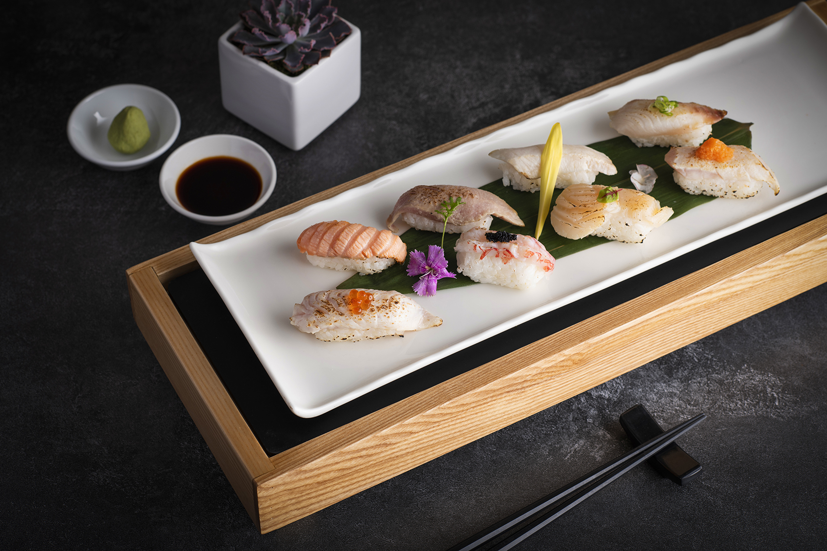 全新開幕遠東Cafe 自助餐廳 日式料理餐檯人氣美食 炙燒握壽司