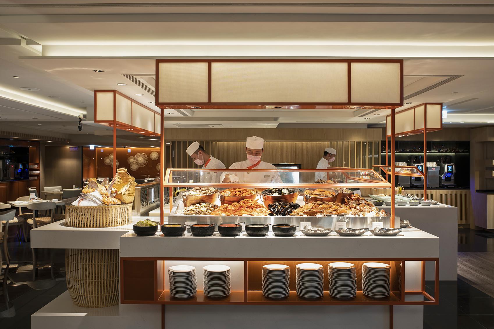 全新開幕遠東Cafe 海鮮餐檯是最大亮點之一
