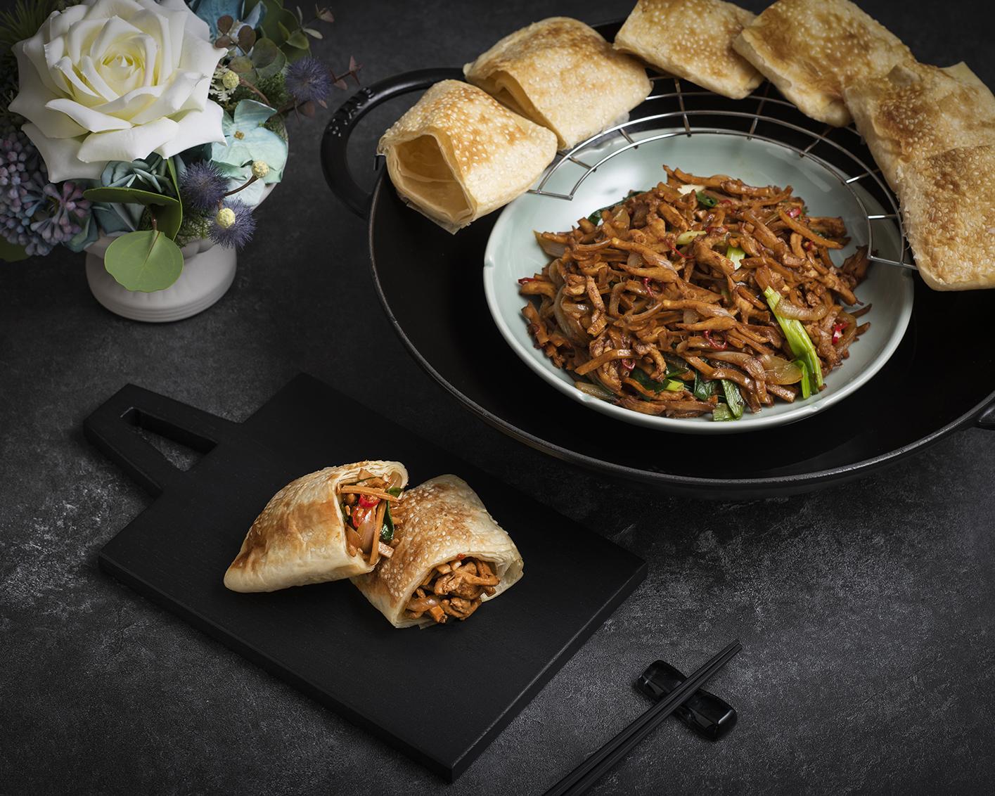 全新開幕遠東Cafe 自助餐廳 中式料理餐檯每日精選燒餅