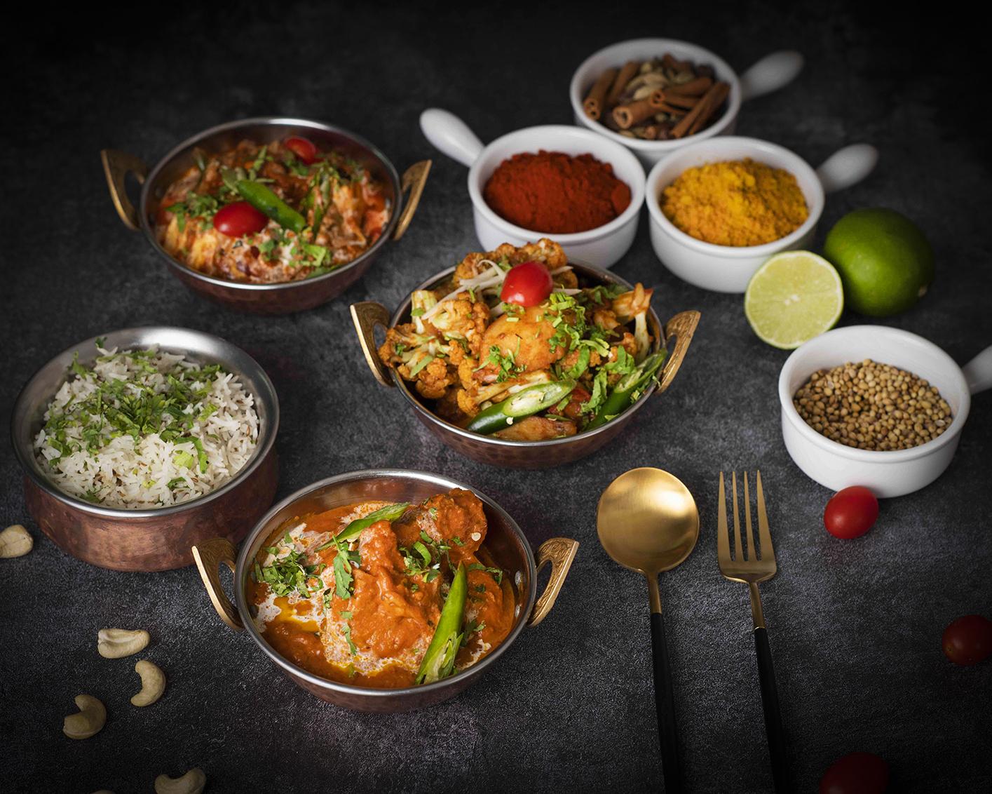 全新開幕遠東Cafe 自助餐廳 亞洲料理餐檯供應各式印度料理