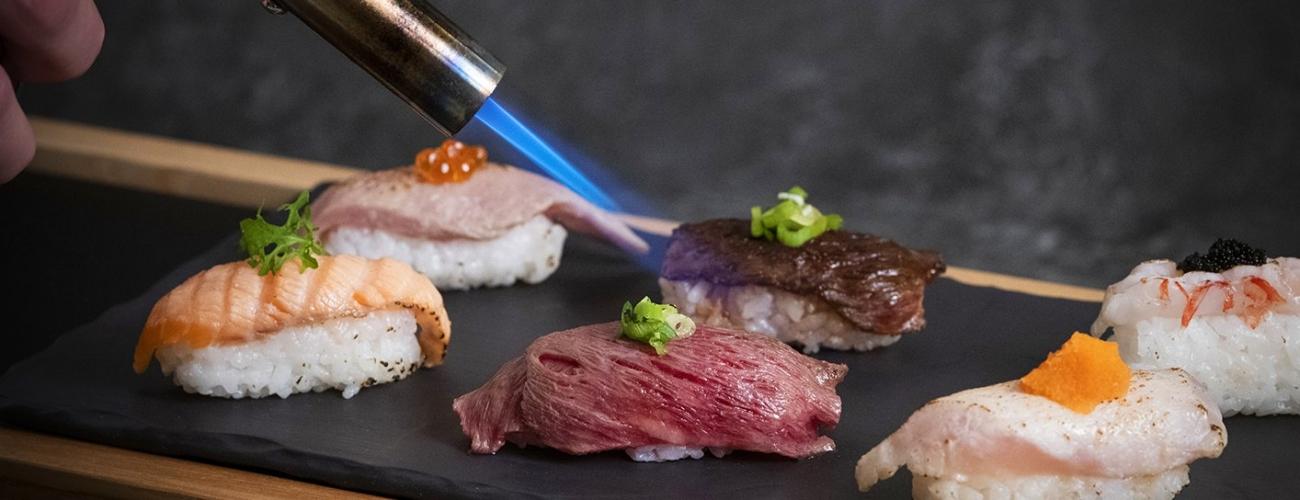日本料理餐檯