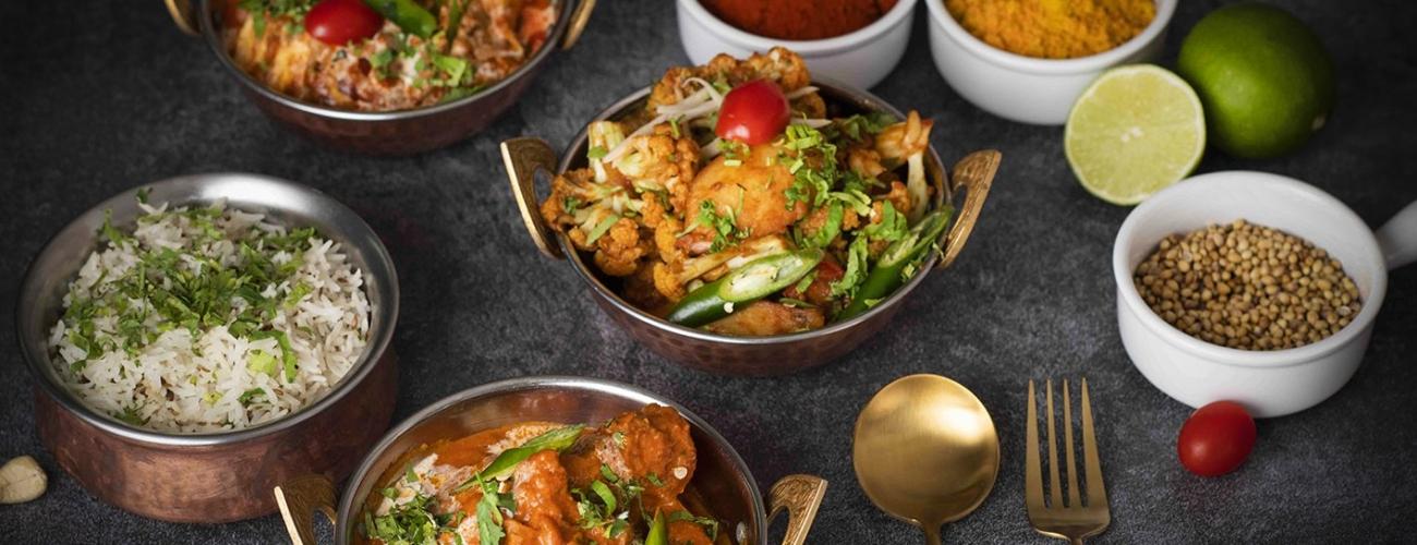 亞洲料理餐檯
