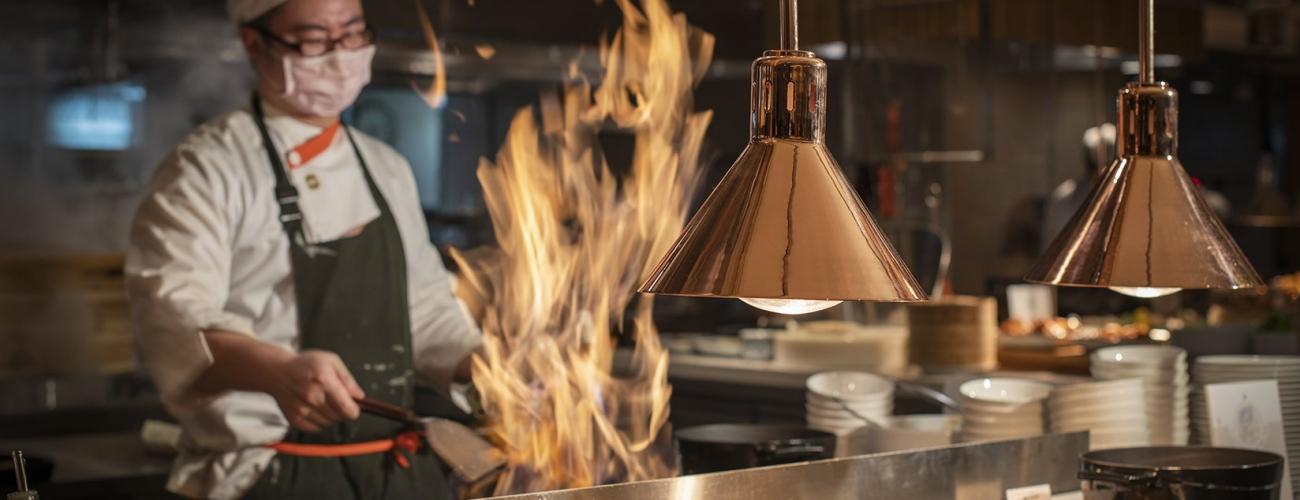 鐵板料理餐檯