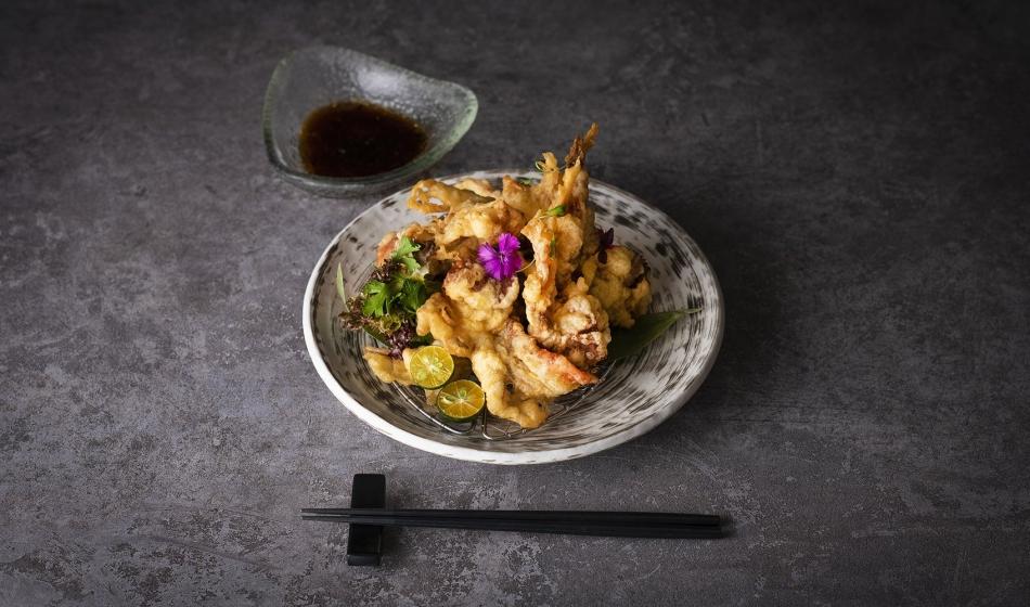 天婦羅軟殼蟹