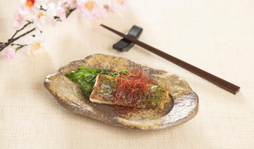 冰島鱈魚 佐九層塔味噌醬
