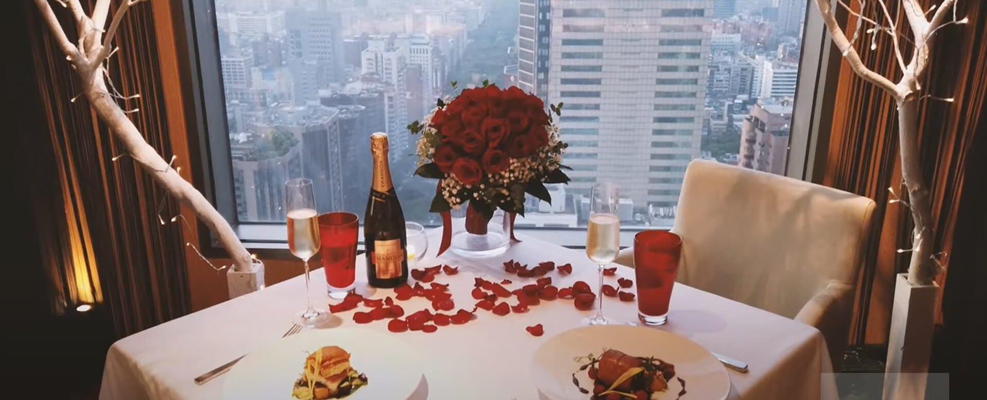 義式美食佐高樓美景,台北浪漫約會餐廳