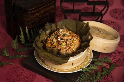 東港櫻花蝦臘味糯米飯